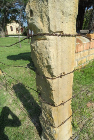 Kansas Stone Fence Post