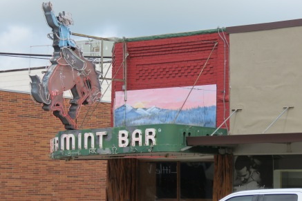 The old Mint Bar.