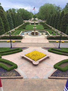 Formal Garden Broadmoor Hotel
